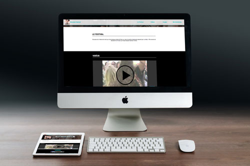 site internet personnalise wordpress application